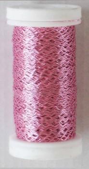 Dekorační  drátek růžový