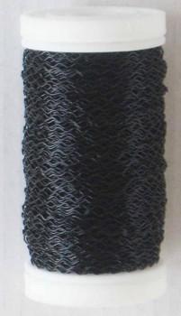 Dekorační  drátek černý