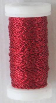 Dekorační  drátek červený