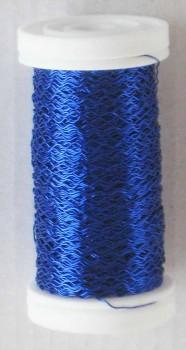 Dekorační  drátek modrý