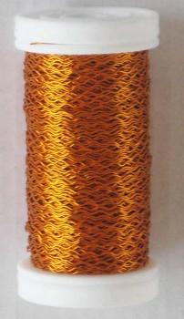 Dekorační  drátek oranžový