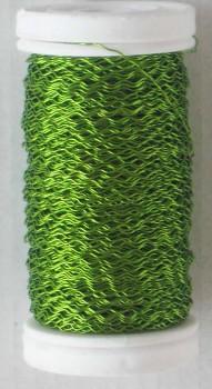 Dekorační  drátek zelený