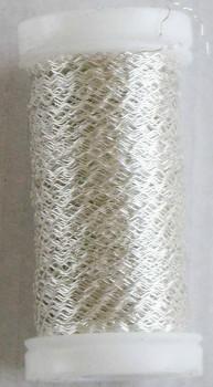 Dekorační  drátek stříbrný