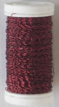 Dekorační  drátek tmavě  červený