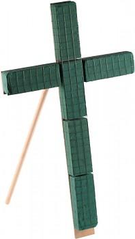 Kříž se stojanem, dušičková dekorace